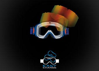 Salomon Goggle Technology - Easy Change Lens System
