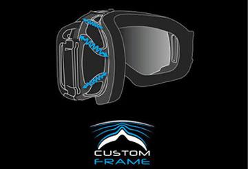 Salomon Goggle Technology - Custom ID Fit Technology