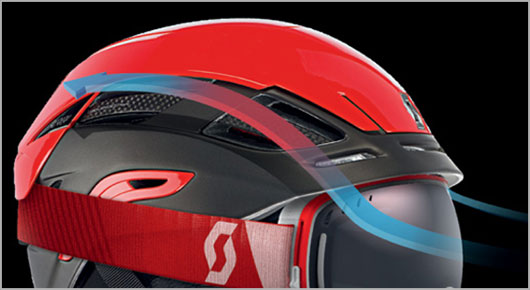 Scott Helmet Technology - G-Vent System