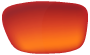 Smith Goggles Lenses - ChromaPop Everyday Red Mirror