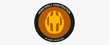 Sweet Cycle Helmet Technology - Mono-Shell Shell Construction