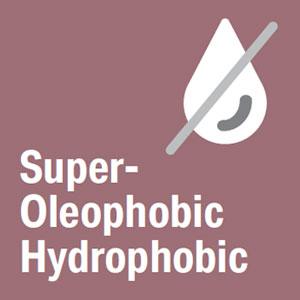 Super Oleophobic and Super Hydrophobic Coating
