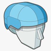 Sweet Helmet Technology - ABS Thermoplastic Shell - Superlight