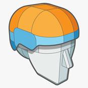 Sweet Helmet Technology - Variable Elasticity Advanced Hybrid Shell
