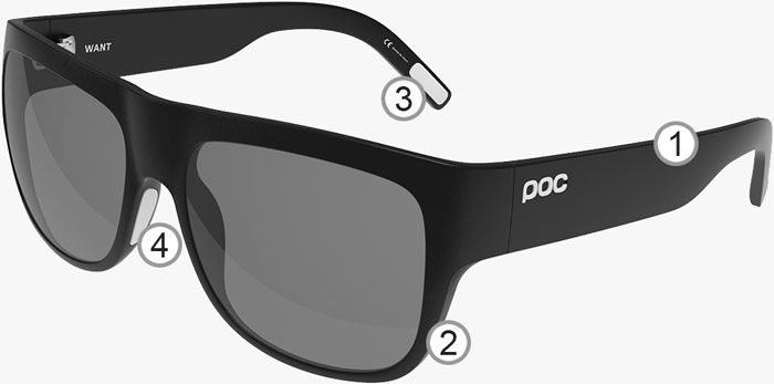 rx sunglasses  POC Want Prescription Sunglasses - POC Prescription Sunglasses ...