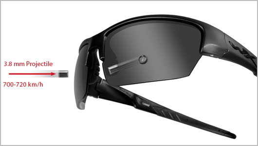 Wiley X Sunglasses Technology - V0 Ballistic Test 5b4224198f