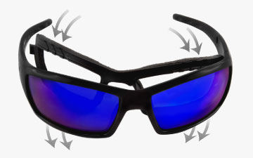 Wiley X Sunglasses Technology - Facial Cavity Seal 2