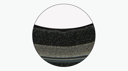 Zeal Optics Frame Technology - Triple Layer Face Foam
