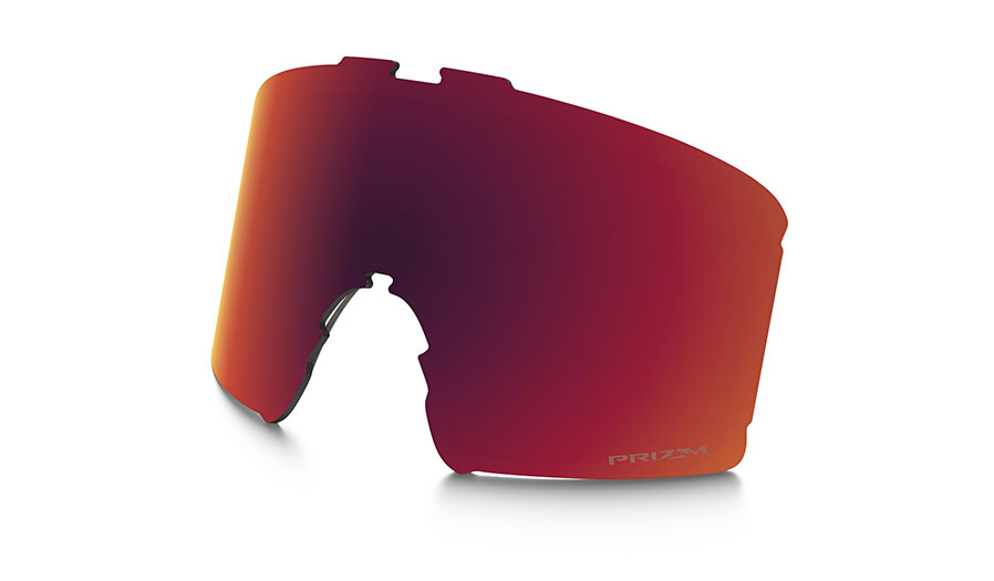 Oakley Line Miner Ski Goggles Replacement Lens Kit - Prizm Torch Iridium