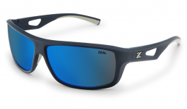 Zeal Range Sunglasses - Navy Blue / Horizon Blue Polarised