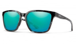 Smith Shoutout Sunglasses - Black Ice / ChromaPop Opal Mirror
