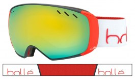 Bolle Virtuose Ski Goggles - Grey & Red / Sunshine & Lemon Gun