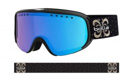 Bolle Scarlett Ski Goggles - Shiny Black Night / Vermillon Blue Photochromic