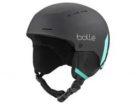 Bolle Quiz Ski Helmet - Matte Black & Green