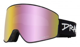Dragon PXV2 Ski Goggles - Sketchy / Lumalens Pink Ion + Lumalens Dark Smoke