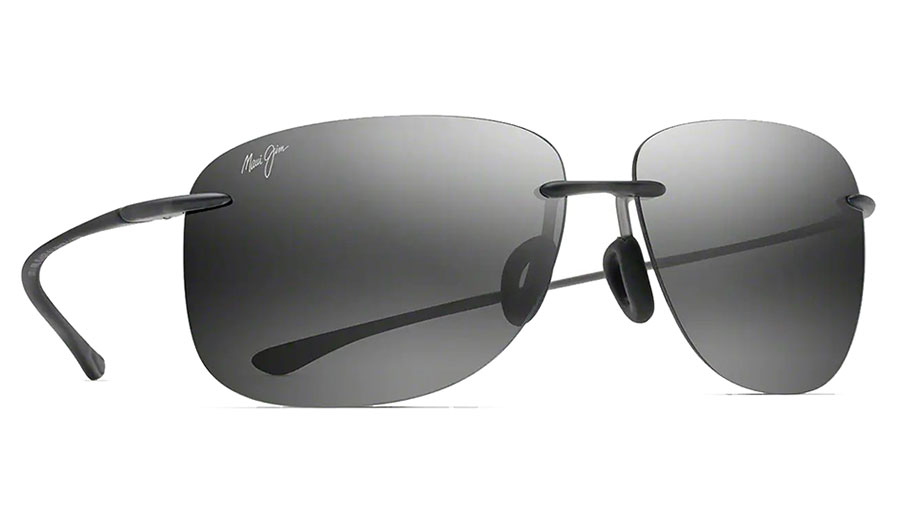 Maui Jim Hikina Sunglasses - Matte Grey / Neutral Grey Polarised