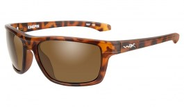 Wiley X Kingpin Sunglasses - Matte Demi Tortoise / Bronze