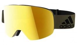 adidas ad80 Backland Ski Goggles - Matte Olive / Gold Mirror