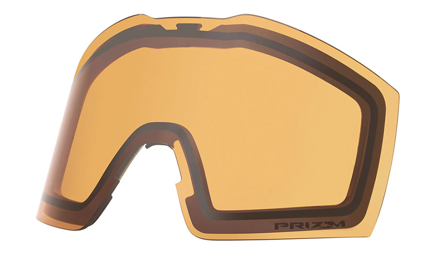 Oakley Fall Line XL Ski Goggles Replacement Lens Kit - Prizm Persimmon