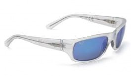 Maui Jim Stingray Sunglasses - Matte Crystal / Blue Hawaii Polarised
