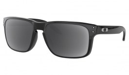 Oakley Holbrook Prescription Sunglasses - Polished Black (Chrome Icon)