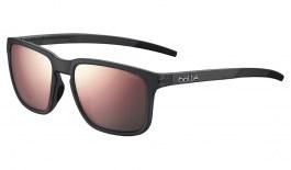 Bolle Score Sunglasses - Matte Crystal Black / Brown Pink Polarised