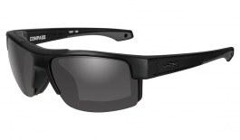 Wiley X Compass Sunglasses - Black Ops Matte Black / Grey