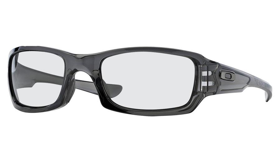 cd842f2f8a Oakley Fives Squared Prescription Sunglasses - Grey Smoke - RxSport