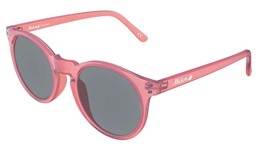 Melon Echo Prescription Sunglasses - Matte Coral Frost