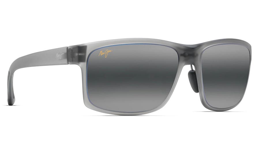 Maui Jim Pokowai Arch Prescription Sunglasses - Translucent Matte Grey