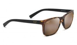 Maui Jim Longitude Sunglasses - Matte Tortoise & Black / HCL Bronze Polarised