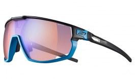 Julbo Rush Sunglasses - Matte Blue & Black / Reactiv Performance 1-3 High Contrast Photochromic