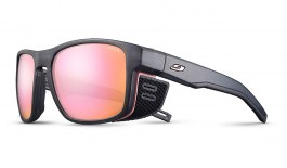Julbo Shield M Sunglasses - Translucent Grey & Pink / Spectron 3 CF Rose Gold