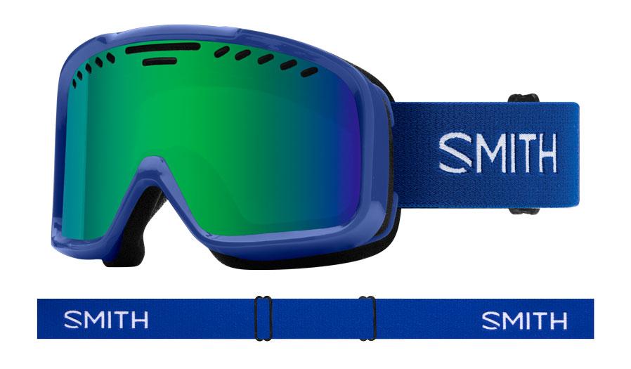 Smith Project Ski Goggles - Klein Blue / Green Sol-X Mirror