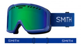 Smith Project Ski Goggles - Klein Blue / Green Sol-X Mirror