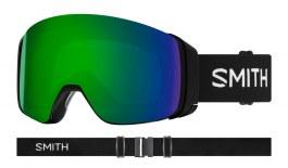 Smith 4D MAG Ski Goggles - Black / ChromaPop Sun Green Mirror + ChromaPop Storm Rose Flash