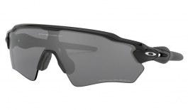Oakley Radar EV XS Path Sunglasses - Polished Black / Black Iridium Polarised