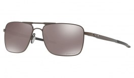 Oakley Gauge 6 Titanium Sunglasses - Pewter / Prizm Black Polarised