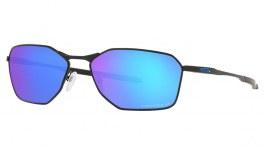 Oakley Savitar Sunglasses - Satin Black / Prizm Sapphire Polarised