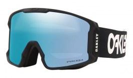 Oakley Line Miner Prescription Ski Goggles - Factory Pilot Black / Prizm Sapphire Iridium