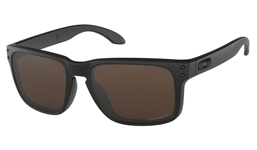 Oakley Holbrook Sunglasses - Matte Black / Prizm Tungsten Polarised