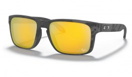 Oakley Holbrook Sunglasses - MotoGP Collection - Matte Black Tortoise / Prizm 24K Polarised