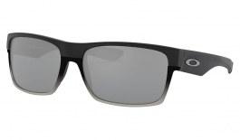 Oakley TwoFace Sunglasses - Matte Black / Chrome Iridium