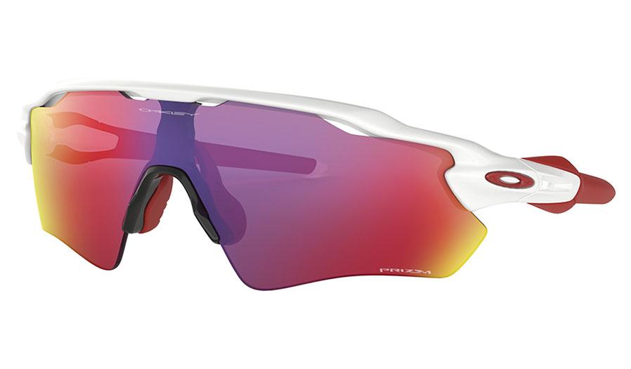 Oakley Radar EV Path Sunglasses - Polished White / Prizm Road