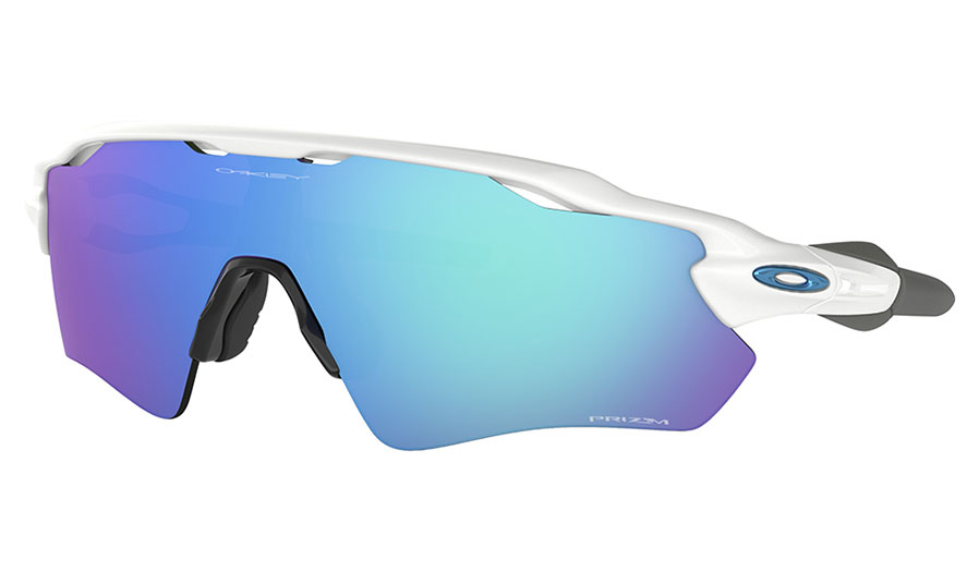 Oakley Radar EV Path Sunglasses - Team Colours Polished White / Prizm Sapphire