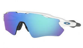 Oakley Radar EV Path Sunglasses - Team Colours Polished White / Prizm Sapphire