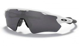 Oakley Radar EV Path Sunglasses - Polished White / Prizm Black Polarised