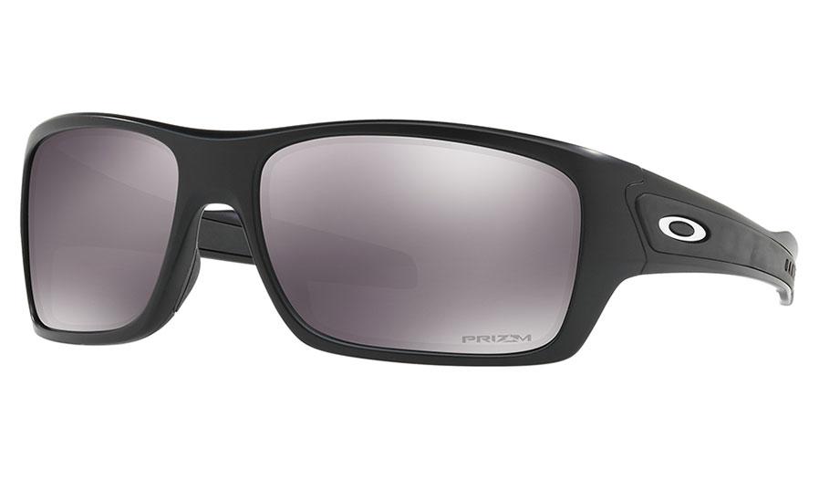 Oakley Turbine Sunglasses - Matte Black / Prizm Black