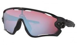 Oakley Jawbreaker Sunglasses - Matte Black / Prizm Snow Sapphire
