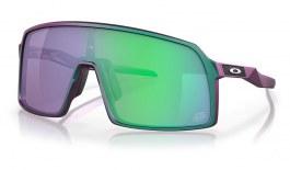 Oakley Sutro Sunglasses - Troy Lee Designs Collection Matte Purple Green Shift / Prizm Jade